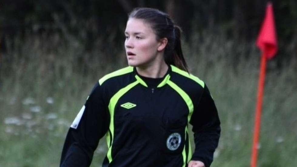 Karoline (19) debuterte i 4. divisjon