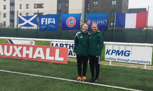 Marit på sin første UEFA-turnering