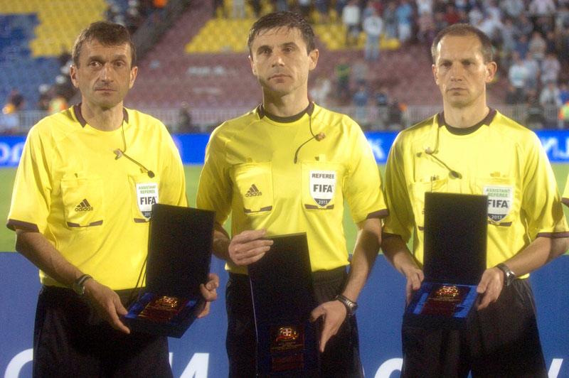 Mažić dømmer gruppefinalen